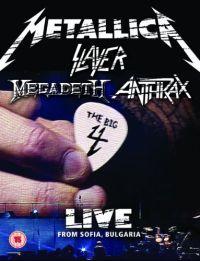 Cover Metallica / Slayer / Megadeth / Anthrax - The Big 4 - Live From Sofia, Bulgaria [DVD]